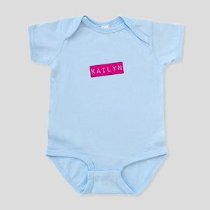 Kailyn Punchtape Infant Bodysuit