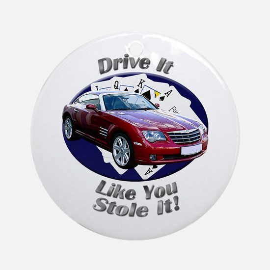 Chrysler Crossfire Coupe Ornament (Round)