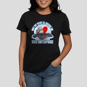 Half My Heart Women's Dark T-Shirt