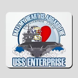 Half My Heart Mousepad