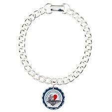 Half My Heart Charm Bracelet, One Charm