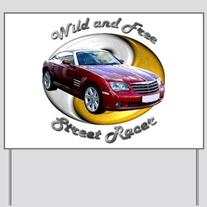 Chrysler Crossfire Coupe Yard Sign