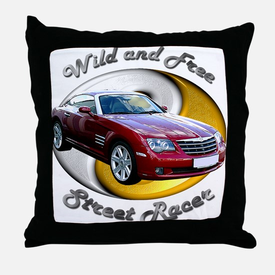 Chrysler Crossfire Coupe Throw Pillow
