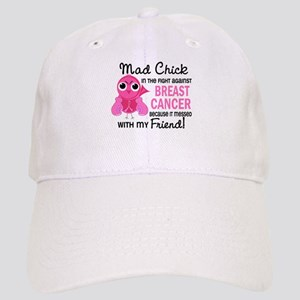 Mad Chick 2 Breast Cancer Cap
