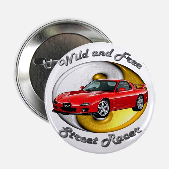 Mazda RX-7 2.25 Inch Button (10 pack)