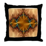 Fractal Universe Delights Throw Pillow