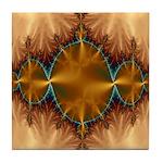 Fractal Universe Delights Tile Coaster