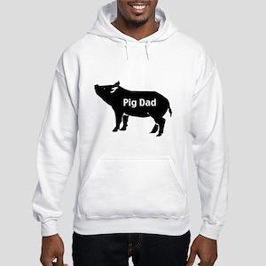Pig Dad Hooded Sweatshirt