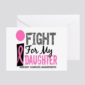 Fight For My Breast Cancer Greeting Card
