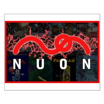 Electric NUON Small Poster