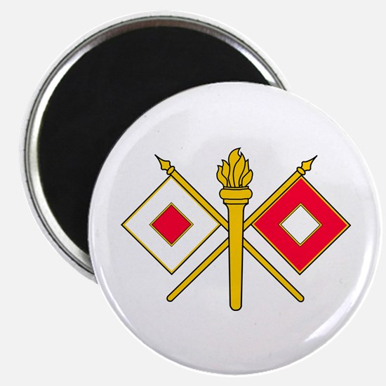 Signal Branch Insignia Magnet