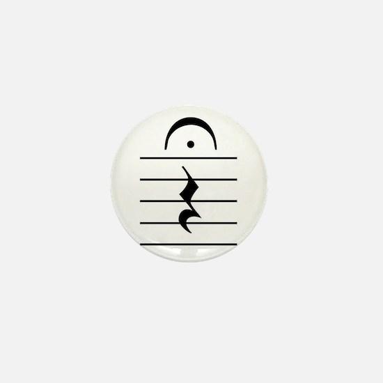 Cute Rest Mini Button