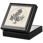 Amphibian Study in Ink Keepsake Box