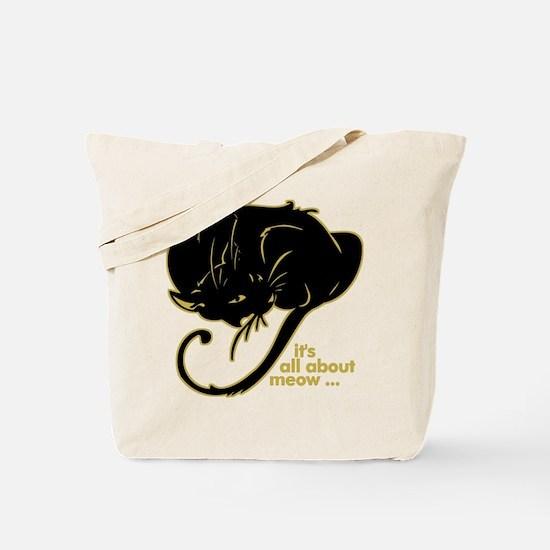 Funny Kitty Cat Kitten Tote Bag