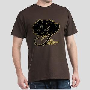 Funny Kitty Cat Kitten Dark T-Shirt