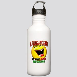 Laughter is the Best Medicine Stainless Water Bott