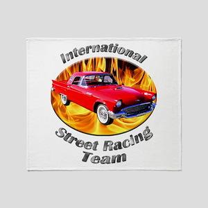Classic Ford Thunderbird Throw Blanket