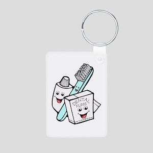 Funny Dentist Dental Hygienist Aluminum Photo Keyc