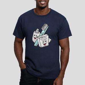 Funny Dentist Dental Hygienist Men's Fitted T-Shir
