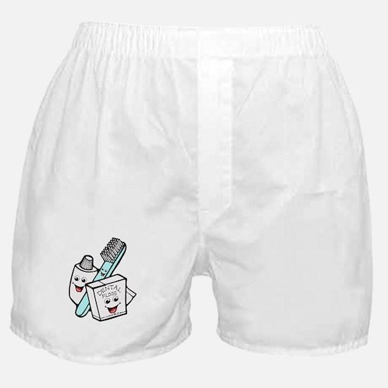 Funny Dentist Dental Hygienist Boxer Shorts