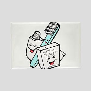 Funny Dentist Dental Hygienist Rectangle Magnet