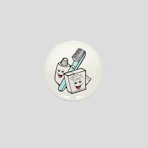 Funny Dentist Dental Hygienist Mini Button