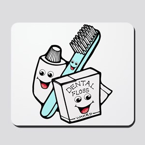 Funny Dentist Dental Hygienist Mousepad