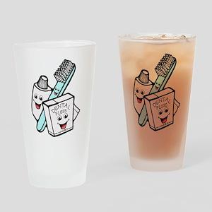 Funny Dentist Dental Hygienist Drinking Glass