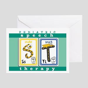 Pediatric Speech Therapy Cards (Pk of 10)