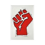 Raised Fist Rectangle Magnet (10 pack)