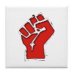 Raised Fist Tile Coaster