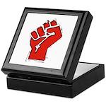 Raised Fist Keepsake Box