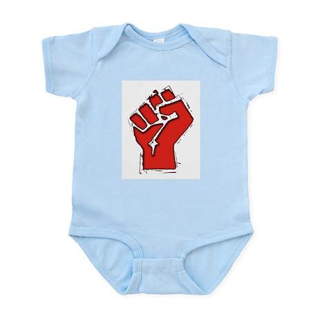 Raised Fist Infant Bodysuit