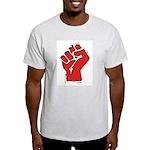 Raised Fist Light T-Shirt