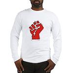 Raised Fist Long Sleeve T-Shirt