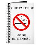 No Fumar Journal