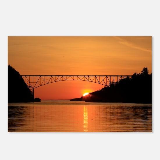 Deception Pass Bridge Postcards (Package of 8)