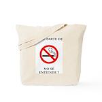 No Fumar Tote Bag