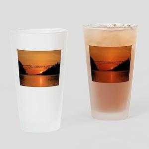Deception Pass Bridge Drinking Glass