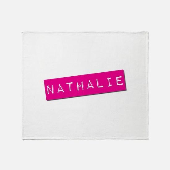 Nathalie Punchtape Throw Blanket