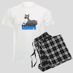Schnauzer Grandpa Men's Light Pajamas