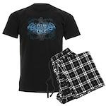 Vegan Straight Edge 01 Men's Dark Pajamas