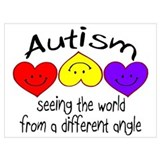 Autism Wrapped Canvas Art