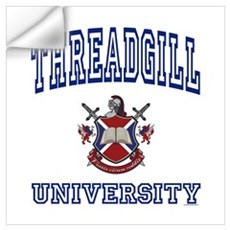 THREADGILL University Wall Decal
