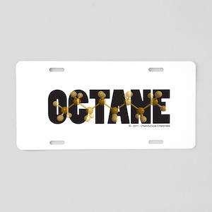 Octane - Aluminum License Plate