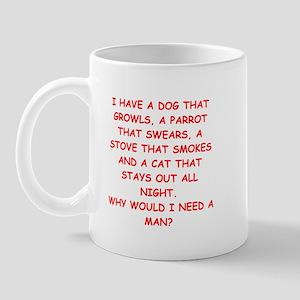 female joke Mug