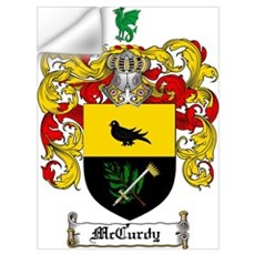 McCurdy Family Crest Wall Decal