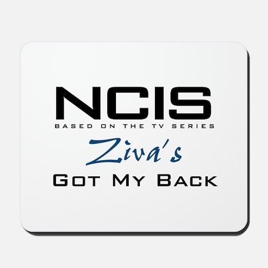 NCIS Ziva's Got My Back Mousepad