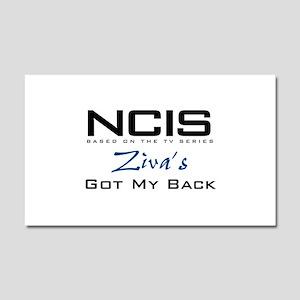 NCIS Ziva's Got My Back Car Magnet 20 x 12