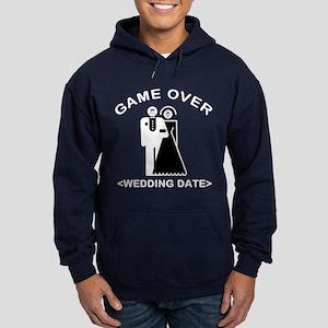 Game Over (Your Wedding Date) Hoodie (dark)